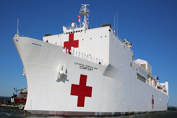 Caribbean News Global usns_-comfort The increasing decay of healthcare in St Lucia