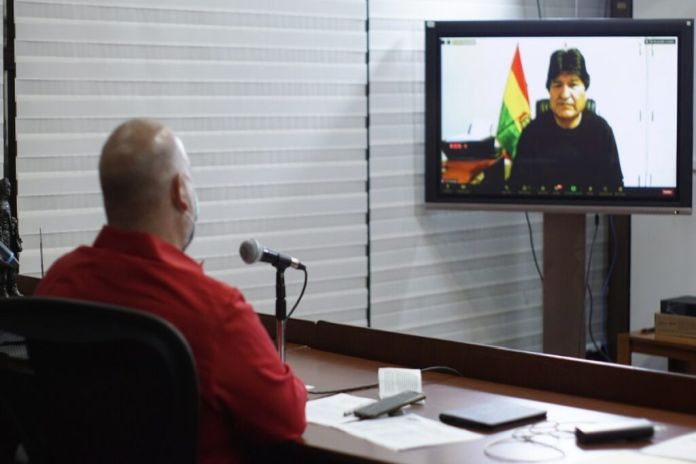 Caribbean News Global Evo_Morales New Simón Bolívar institute for peace and solidarity among peoples: A refreshing contribution from Venezuela to the world