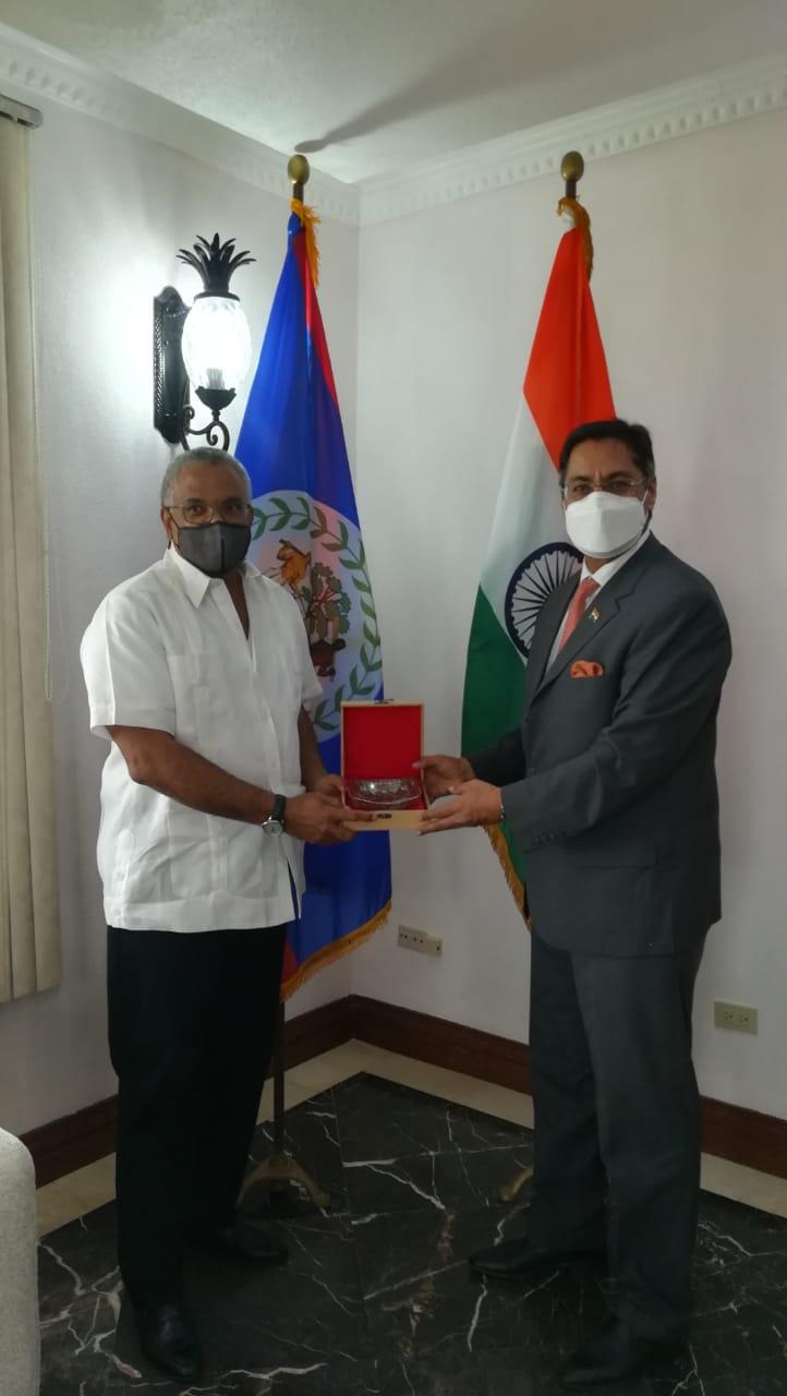 Caribbean News Global MFA-29.1-3 Belize - India strengthens diplomatic ties