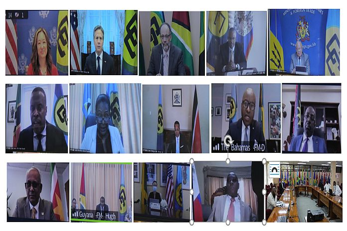 Caribbean News Global caricom_fm US Department of State check pulse of CARICOM foreign ministers
