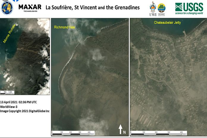 Caribbean News Global usgs La Soufrièreash plumes on Barbados a potential year-long impact