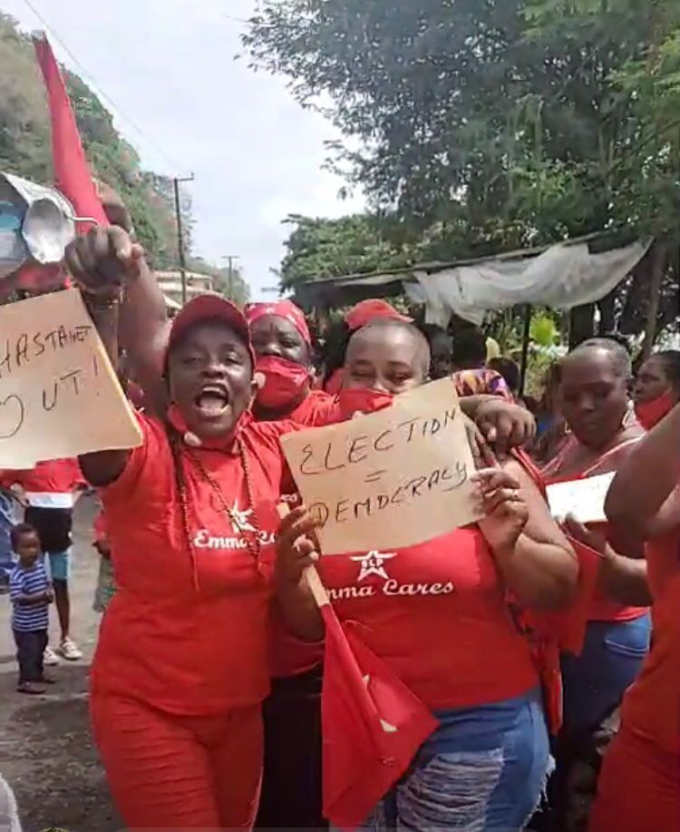 Caribbean News Global Barron-Drive-Soufriere-June-6-1 St Lucia introduces laws of the police state for COVID elections 2021
