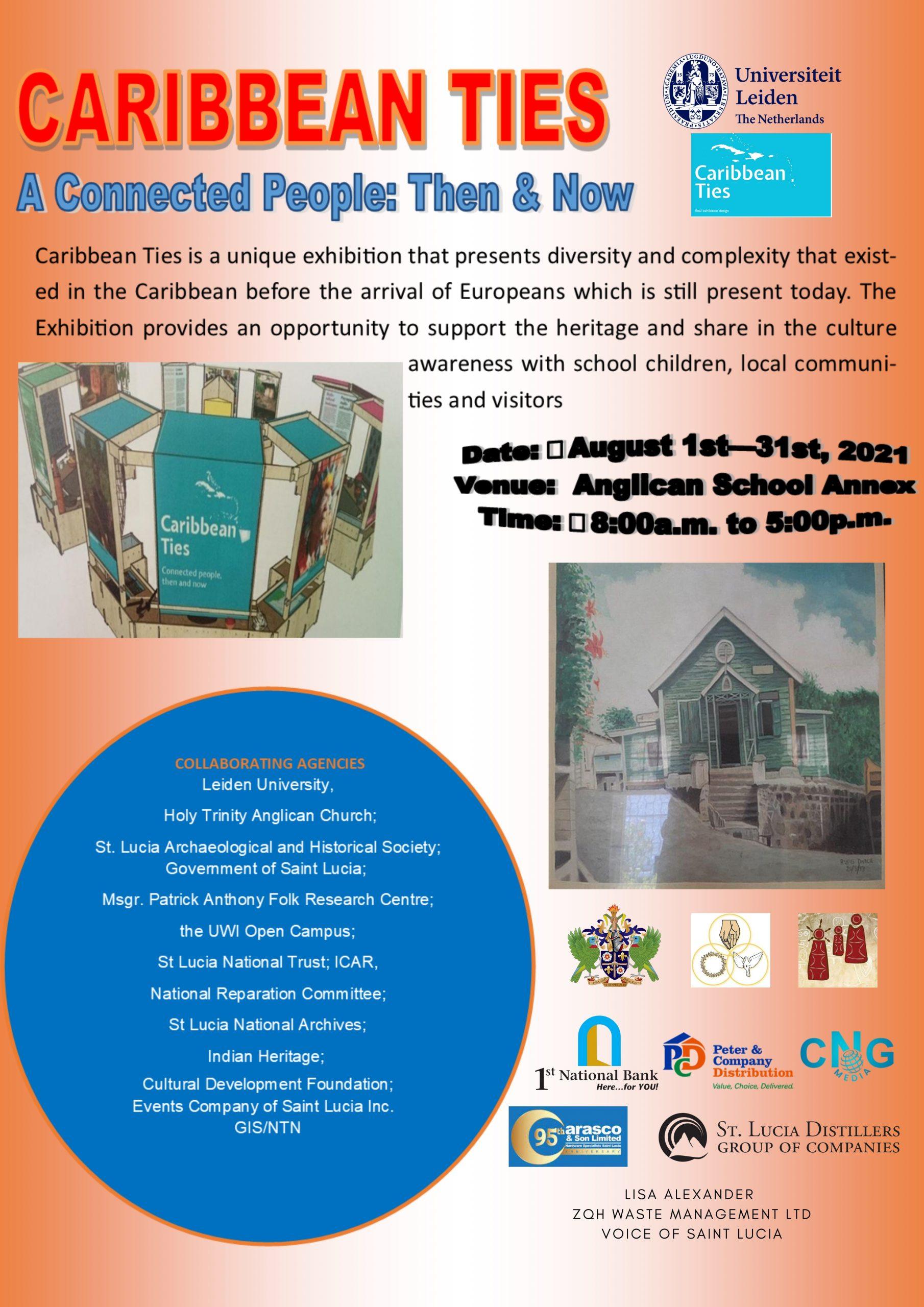 Caribbean News Global Caribbean-Ties_flyer-scaled Caribbean Ties Exhibition August 1-31, 2021
