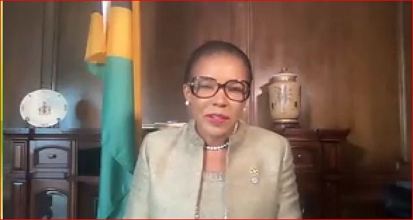 Caribbean News Global audrey_marks Jamaica assumed chair of the Inter-American Council for integral development