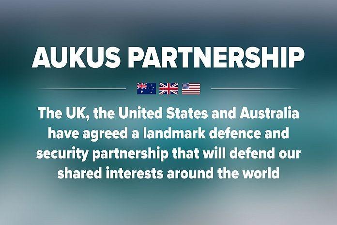 Caribbean News Global AUKUS_PARTNER UK, US - Australia launch new security partnership
